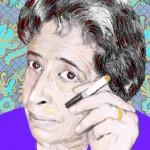 Hannah Arendt - Illustration by Ingrid Bouws