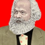 Karl Marx - Illustration by Ingrid Bouws