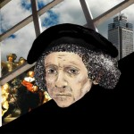 Rembrandt van Rhijn - Illustration by Ingrid Bouws
