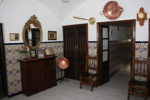 Vestibulo en la casa de Doña Maria Teresa Doña Maria Teresa Vestibule in Doña Maria Teresa's house