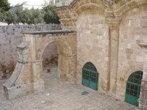 Gouden poort in Jeruzalem