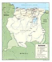SurinameMap