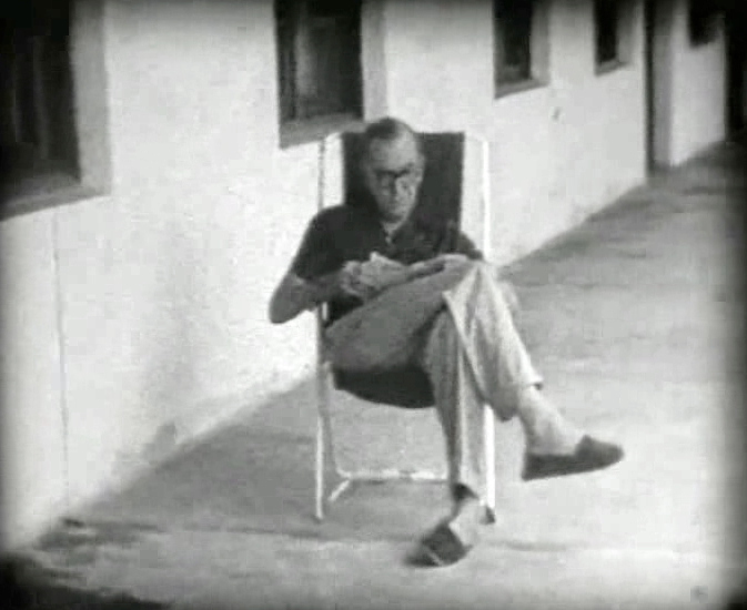 Tiny Bouts Of Contentment Rare Film Footage Of Graham Greene In The