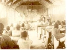 Classroom rear view, Nsona Mbata (Matadi), 1920
