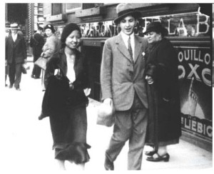 Picture 1.8 The lovestruck Qian Xiuling and her Belgian Man, 1933 Source: http://news.sina.com.cn/