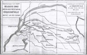 kaart prefectuur Coq 1930