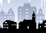 illustration-houses-bw