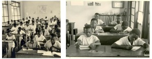 Image 18 - Classes in central mission schools, MSC mission area, in the 1950s. MSC Borgerhout Collection