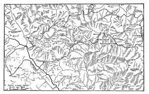 Verkenningstocht van Sneep ten noorden van Antares