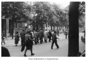 Foute Nederlanders Sarphatistraat