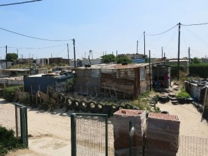 Violence and crime are spatially distributed with violent crime often concentrated in poorer, underdeveloped urban areas - such as this informal settlements in Khayelitsha, Cape Town