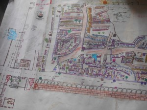 Hand-drawn maps such as this are winding up on the desks of urban planners across India. (Courtesy of Humara Bachpan)