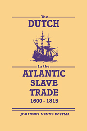 the_dutch_in_the_atlantci_slave_trade_1600-1815