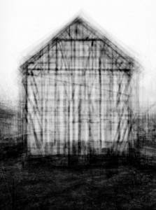 1. Idris Khan, every…Bernd and Hilla Becher Gable Sided House, 2004, foto, 203 x 165 cm.