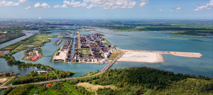 The islands of IJburg, with Center Island jutting out to the right. (Image courtesy of Amsterdam)