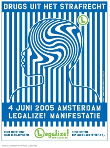 Ontwerp M-DSGN - Poster Legalize 2005