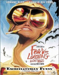 Illustratie Fear and loathing in Las Vegas