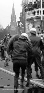 Foto Han Singels: Vondelstraatrellen 1980