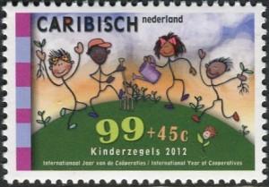 Caribisch Nederland Kinder postzegel 2012