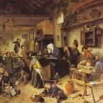 Jan Steen Dorpsschool 1672