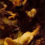 Abrahams offer ~ Of de dwangmatige herhaling van een vader-mythe