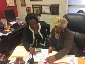 Petersburg High School's principal and guidance counselor have helped more than half of their students go to college, but none have gone to UVA since 2010. Photo: Meredith Kolodner