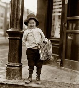 Newsboy - May 9, 1910