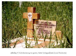 Individualisering van graven, 'kelder' rk-begraafplaats - Foto: Louis Noorlander