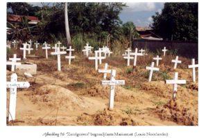 'Zandgraven' begraafplaats Mariusrust - Foto: Louis Noorlander Annetta's Hof & Nieuw Vrede en Arbeid