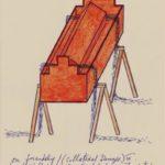 Architecturaal model Synagoge LJG