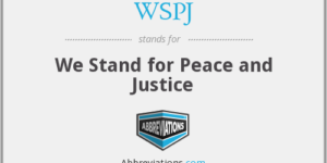We Stand For Peace And Justice ~ Petition