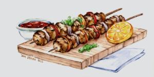 Chicken Kebab Skewers
