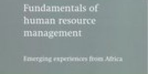Josephat Stephen Itika ~ Fundamentals Of Human Resource Management: Emerging Experiences From Africa