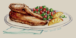 The Art Of Cooking  ~ Chicken Schnitzel Recipe