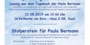 Zum Gedenken an Paula Bermann