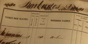 Surinaamse slavenregisters online toegankelijk