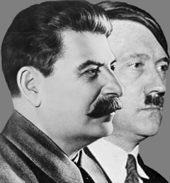 Hitler and stalin ideology