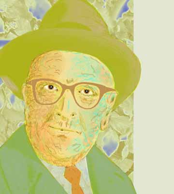 Max Horkheimer - Illustration by Ingrid Bouws